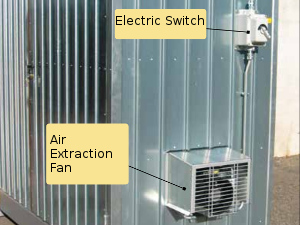 picture of air extraction fan