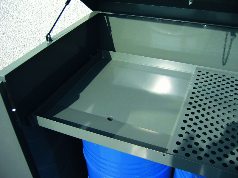 Drum Cabinet With Sump And Oil Filter Drip Tray S Amp S