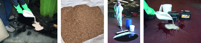 picture of our absorbent granules range