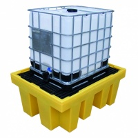 Single IBC Bund Spill Pallet