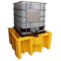 IBC Polyethylene Sump + Built in Drip Catch