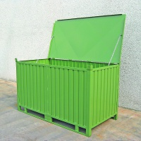 Large General Purpose Stillage with hinging Lid