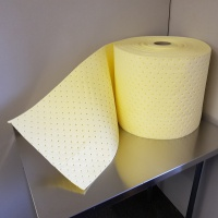 Heavy Duty Chemical Absorbent Roll for Spills and Leakages - 4mm
