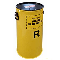 Cylindrical Oil Filter Containers