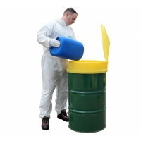 Polyethylene Drum Funnel with Hinged Lid