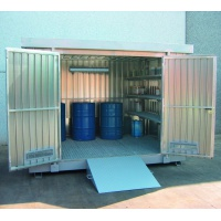 Multipurpose Storage Container 6m² with Collection Sump