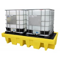 Polythene Sump Pallet bund for 2 IBC's