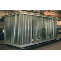 Multipurpose Storage Container 11m² with Containment Sump