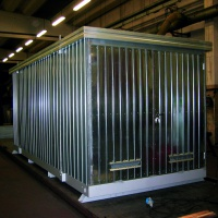 Multipurpose Container 11m² with Spill Containment Sump End Access