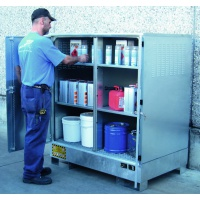 Multipurpose Storage Cabinets with Sump and galvanized