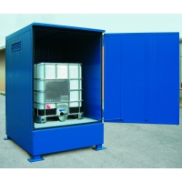 Thermally Insulated Storage Sump Cabinet for 1x IBC
