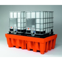Premium Polythene Sump Pallet For 2 IBCs