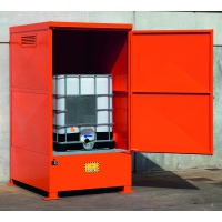 Steel Storage Sump Cabinet for IBCs